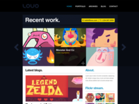 Lovo Theme - Portfolio & Blog