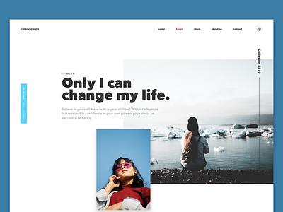 Fashion concept start interface web design xd modern user interface clean ui design web visual design webdesign