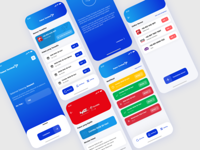 Paket Tembak 1 internet package ui design uidesign ui  ux uiux ui gradient design gradient mobile app design mobile design mobile app mobile ui mobile ios android simple design clean ui application app design app