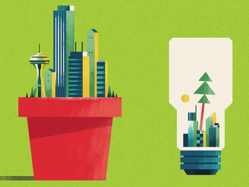 Green & Efficient Cities