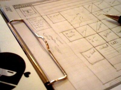 Sketch/Grids grid website sketch