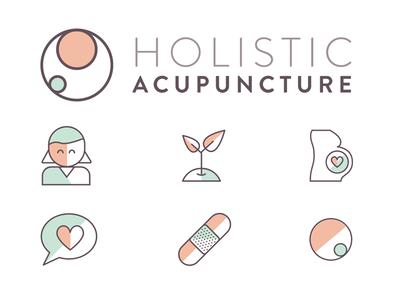 Brandling Elements icons logo acupunture holistic