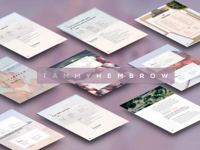 Tammy Hembrow Meal Plan magazine beauty indesign screens mockup health meal design branding brochure
