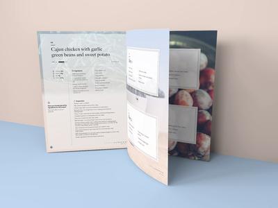 Tammy Hembrow Meal Plan screens mockup meal magazine indesign health design brochure branding beauty