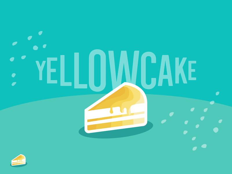 Gatsby & Netlify CMS gatsby yellowcake cake orange white yellow blue aqua vector icon branding illustration web deisgn design website cms logo netlify