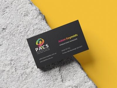 Recent branding job for PACS