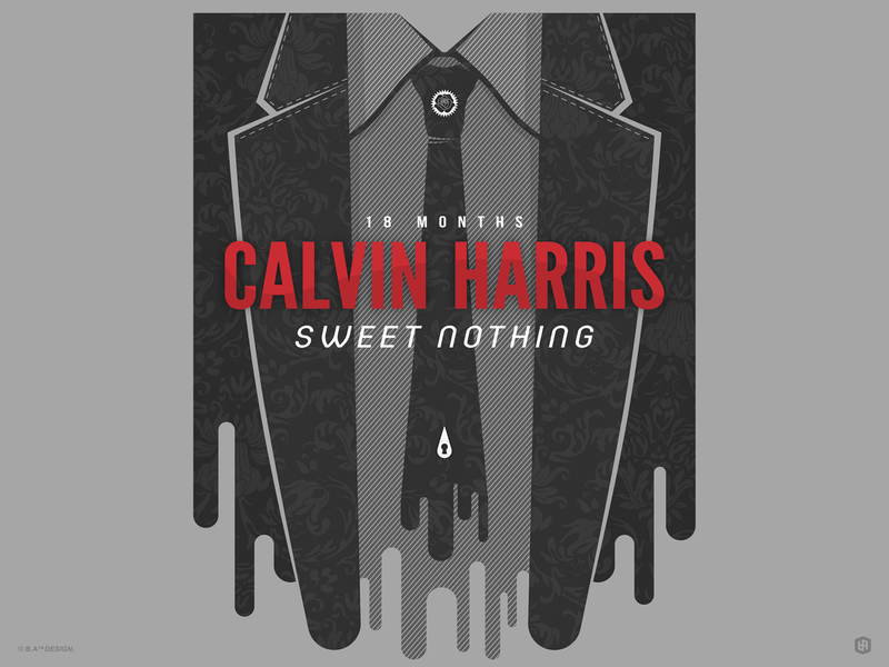 Calvin Harris illustration digital illustration poster art design graphic design artwork