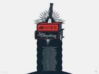 Bayside & Say Anything band poster band art poster design illustration digital illustration graphic design artwork