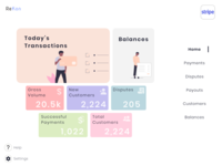 Reconciliation Dashboard dashboard ui dashboard platform design ux ui