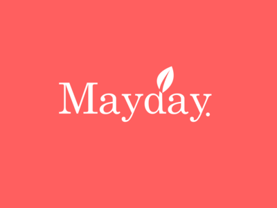 Mayday wedding logo
