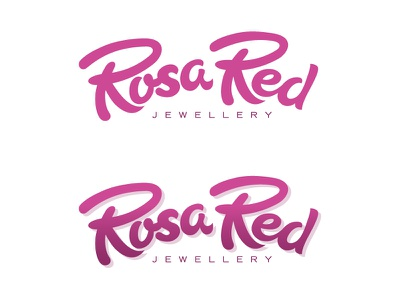 Rosa Red Branding branding logo typography