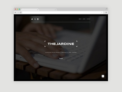 The Jardine Website branding logo typography websitedesign
