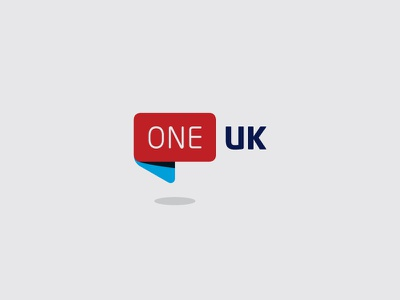 One UK branding logo rebranding