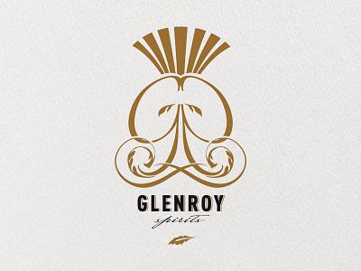 Glenroy Spirits Brand brand logo identity spirits