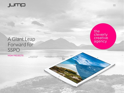 Jump Website agancy parallax responsive website