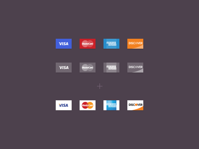 Credit Card Icons FREE PSD (Vector) iconset icons credit card card flat ui free psd
