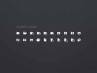 Folders And Pages Iconset