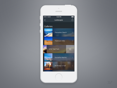 Browse Galleries ios 7 gallery browse thumbnails