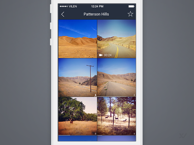 Browse Gallery - Caching for off-line  ios7 thumnails grid progress bar gallery