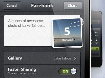 Camera Awesome - Share View ios app iphone share awesome camera