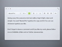 Light text editor by vilen 1 %28preview%29