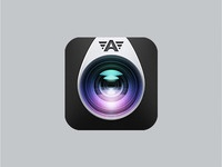 Process   camera awesome app icon v2 by vilen