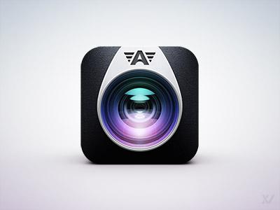 Camera awesome app icon v2 by vilen