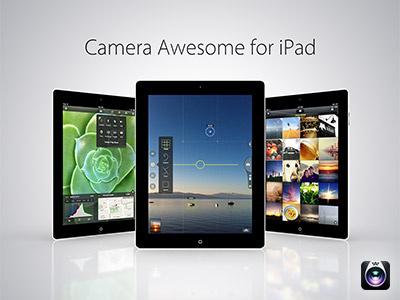 Camera Awesome iPad App ios app camera awesome ipad