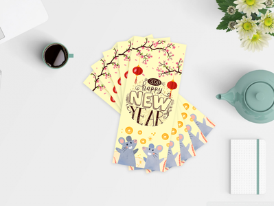 Lunar New Year Lucky Money Envelopes