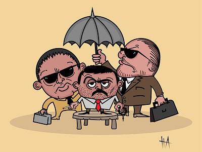 orientalist mafia illustrations digitalart cartoon characterdesign cartoon illustration digital illustration vector illustration vectorcharacter vectorart vector illustration character