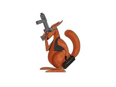 Gangster kangaroo