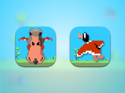 Duck Icon duck hunt hunter app icon ios play game iphone ipad duck hunt app icon