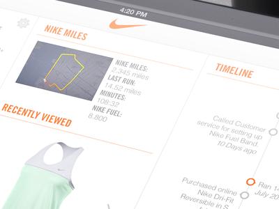 Nike App Close up up close ipad app worker association nike