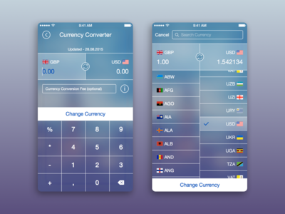 Currency Converter search calculator custom 6 6s iphone blur ios guide travel converter currency