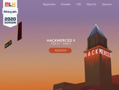 HackMerced V Landing Page