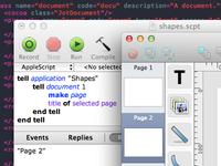Adding scriptability to @ShapesApp