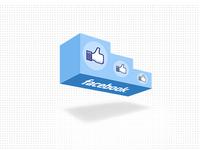 Facebook Like Podium