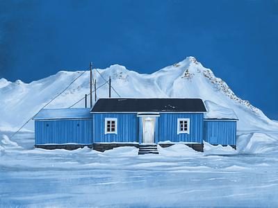 Winter is coming! 🥶  ❄️ pankaj juvekar twilight snow painting illustration art illustrations illustration illustrator ipadproart ipad pro ipadpro procreate app procreate art procreateapp procreate winteriscoming