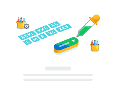 Appway Design System: Style Definition design system isometric illustrative components icons iconography styling