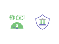 Icons for Overdraft Facilities and Trust Services