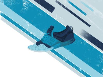 Shoe Illustration - 1 procreate design illustration shoe new balance