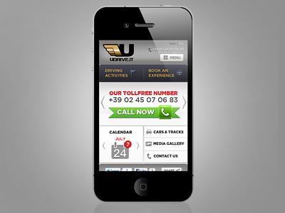 Udrive Mobile Site