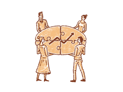 Team Responsibility ipadpro procreate illustration success responsibility team