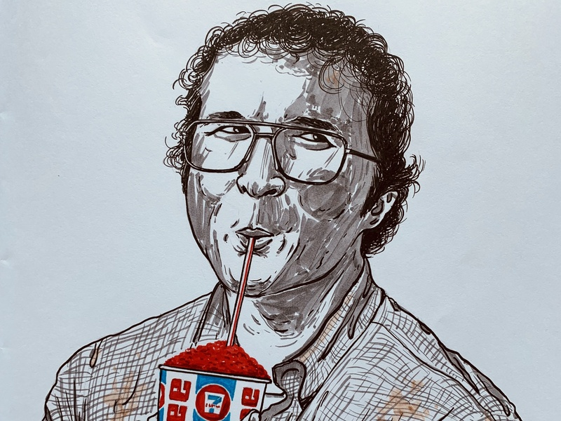 Smirnoff (Alexei) smirnoff alexei strangerthings stranger things netflix fan art fanart illustration