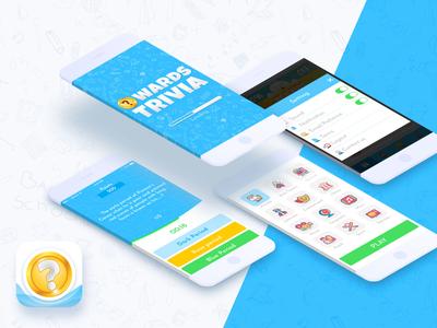 Quiz Competition Game(UI/UX) - Owards Trivia Design