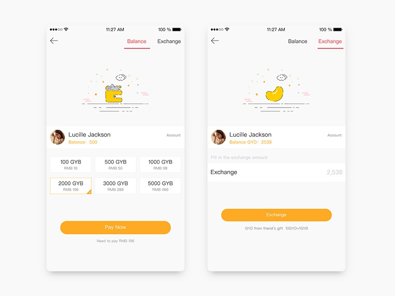 daily ui #026 pay by xinjiebi | dribbble | dribbble