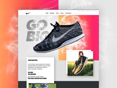 Go Big - Landing Page