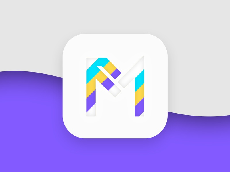 Click it ui app icon logo design icon app