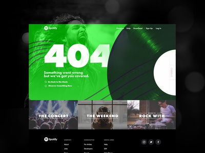Rock Out with your 404 out