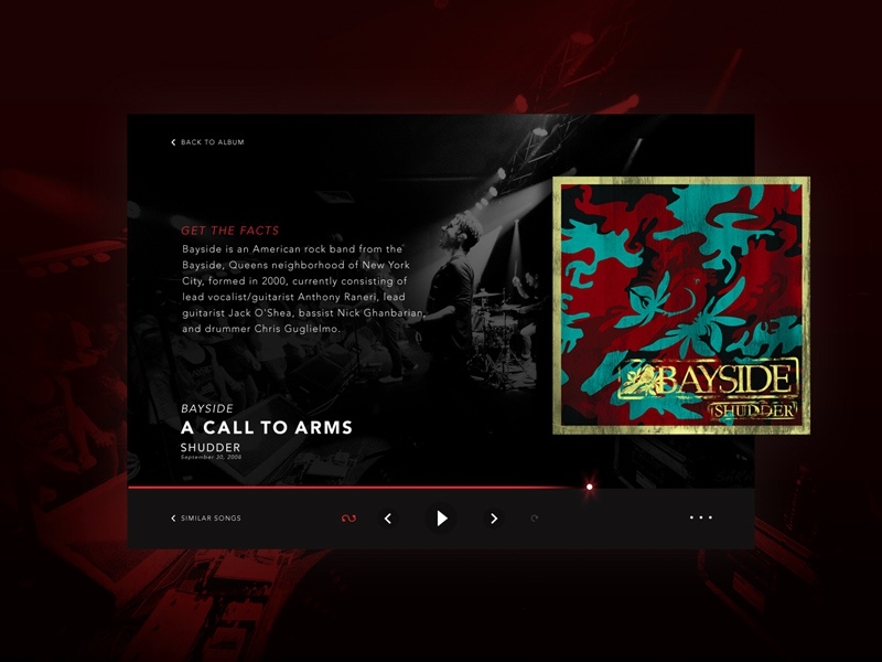 Hit that Play Button design user experience user interface ui music player